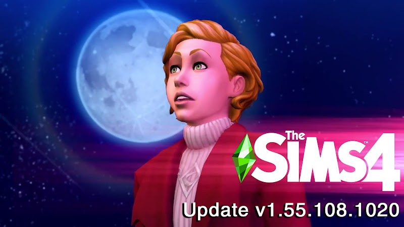 THE SIMS 4 PATCH UPDATE V1.55.108.1020