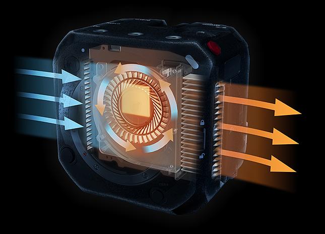 Система охлаждения камеры Panasonic Lumix BS1H