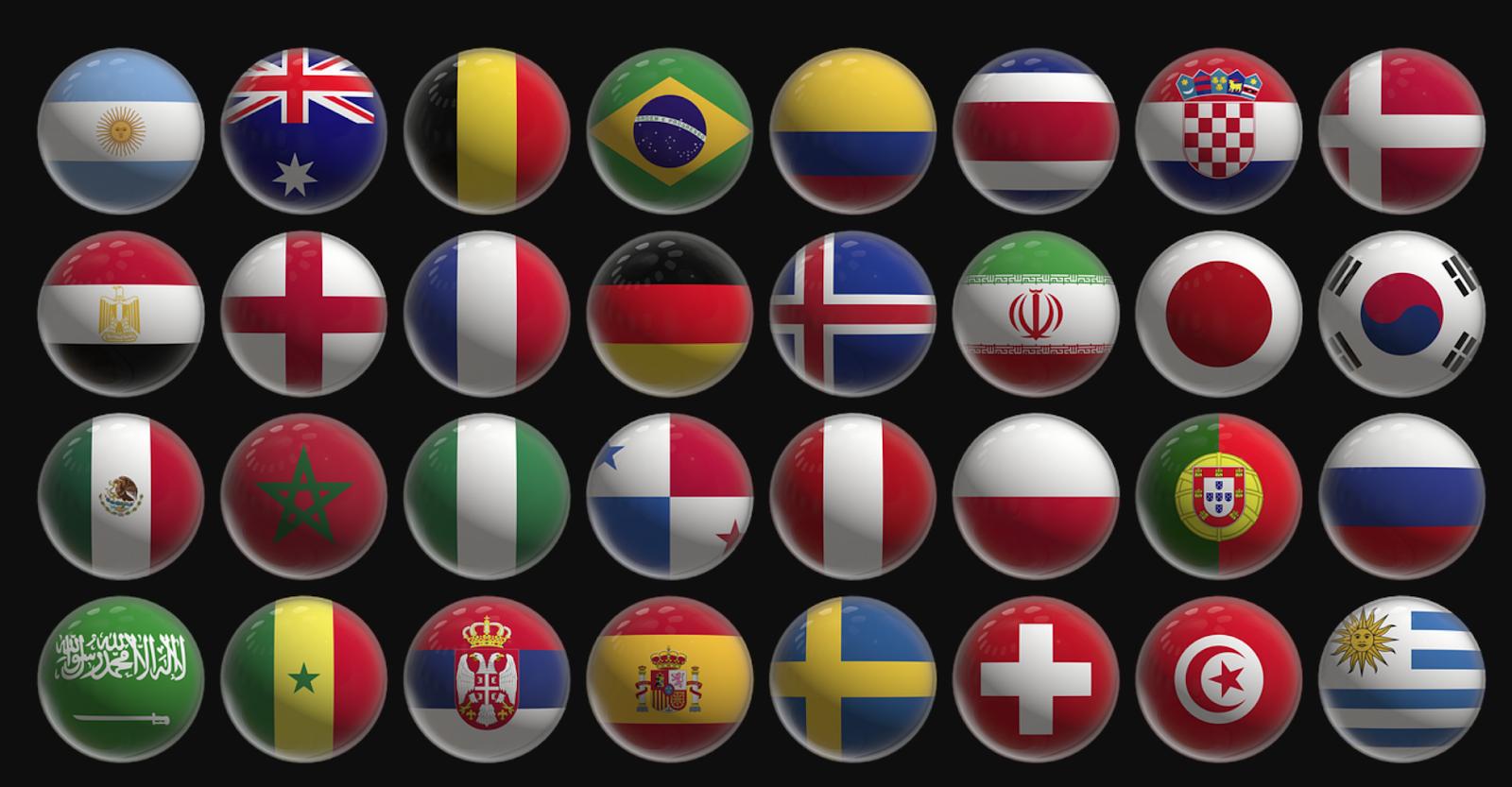 Mengulas Logo Bendera Negara Piala Dunia Kejuaraan Dari Masa