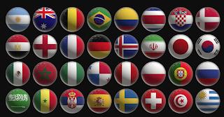 Mengulas Logo Bendera Negara Piala Dunia Kejuaraan dari Masa ke Masa