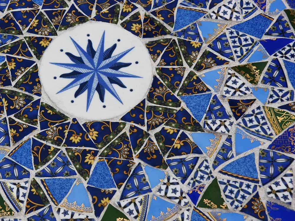 Mosaic Table detail