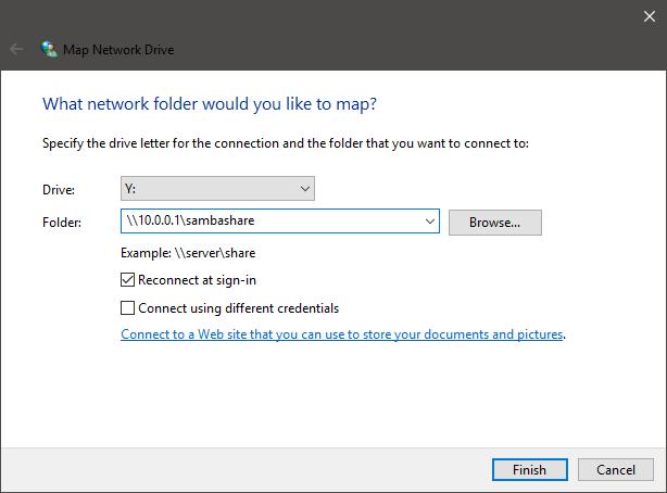 Come connettere un NAS su Windows