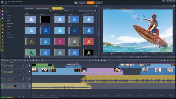 Pinnacle Studio - 11 Software Video Editor Terbaik Untuk Windows