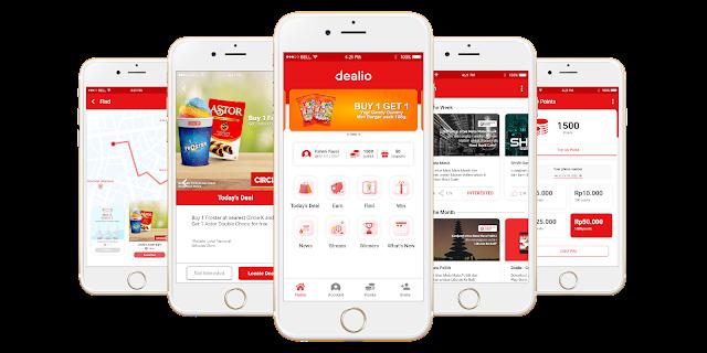Aplikasi Penyedia Promo Gratisan dan Diskon