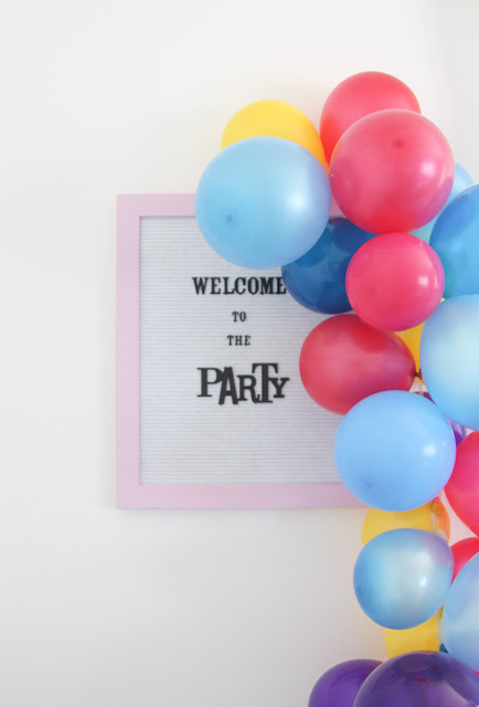 How to Plan an Easy, Colorful, Birthday Party from one store by The Celebration Stylist