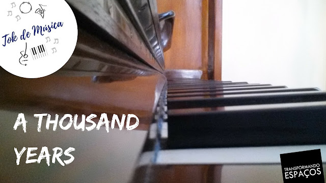 A Thousand Years - Christina Perry | Piano Cover - Edeltraut Lüdtke