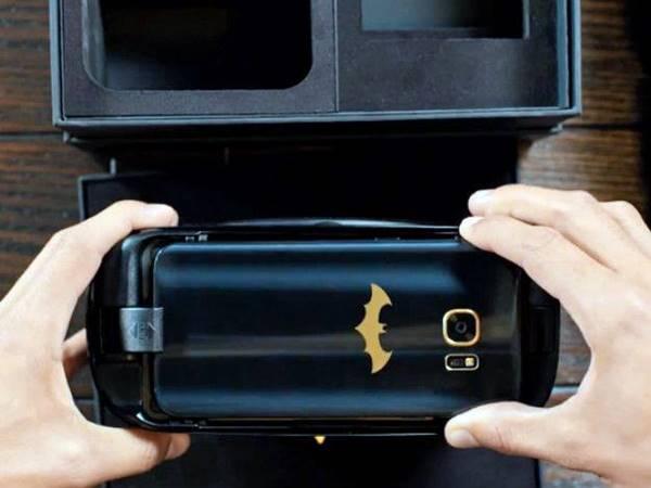 Samsung Galaxy S7 Edge ganha edição especial do Batman