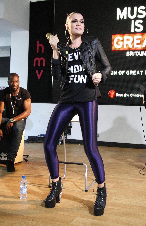 One Honey Boutique Celebrity Style File Jessie J