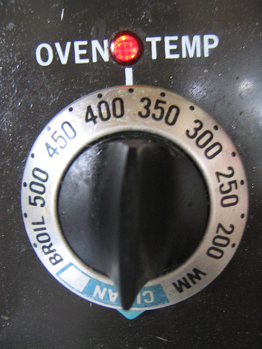 Baking Cake In Electric Oven Temperature