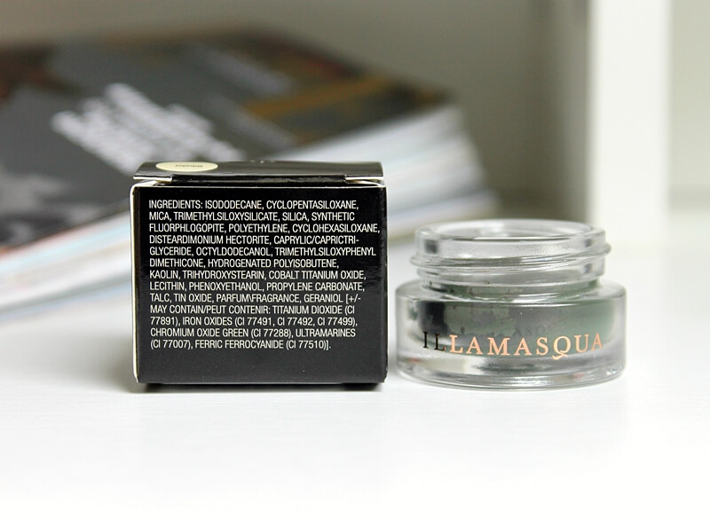 illamasqua vintage metallix bibelot review recenzija ingredients