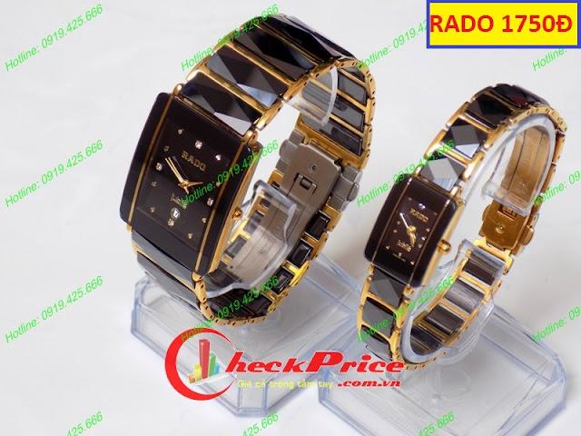 Đồng hồ cặp đôi Rado 1750Đ