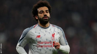 Mohamed Salah is the top scorer in the Premier League with 16 goals this season