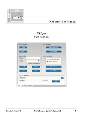 Nss Pro user manual Download eBook