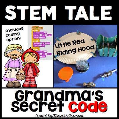 https://www.teacherspayteachers.com/Product/Little-Red-Riding-Hood-Fairy-Tale-STEM-Activity-Grandmas-Secret-Code-3243562