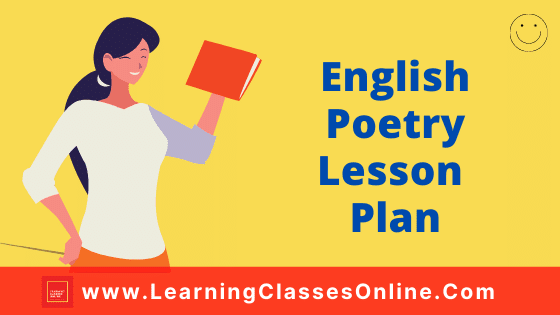 English Poetry Lesson Plan for B.Ed and School Teachers On The Road Not Taken Poem For Class 9 Free Download PDF