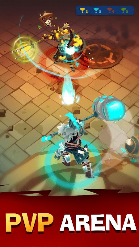 The Mighty Quest for Epic Loot v7.0.0 MOD, High Damage/Defense - Game hành động cho điện thoại
