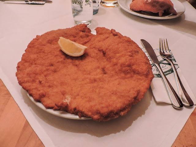 wiener schnitzel a vienna