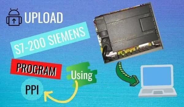 UPLOAD S7-200 SIEMENS PROGRAM USING PPI