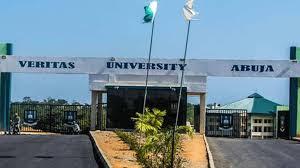 Veritas University Post UTME/DE Screening Form 2021/2022