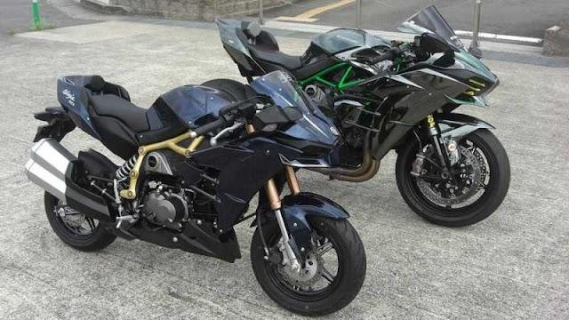 Modifikasi Kawasaki Z125 Pro Jadi Ninja H2, Wow!