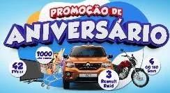 Cadastrar Promoção Paulistão Aniversário 2019 Carro 0KM e Prêmios