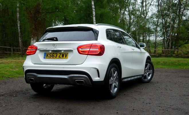Mercedes-Benz GLA-Class 200 CDI AMG Line rear view