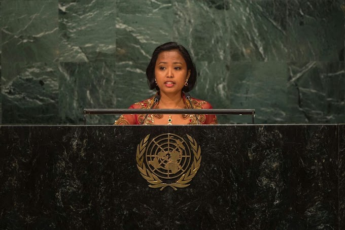 Pidato Eni Lestari, Pada Pembukaan KTT PBB tentang Pengungsi dan Migran