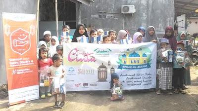 Muslimat Hidayatullah Jabodebek Tebar 300 Paket Bingkisan Lebaran