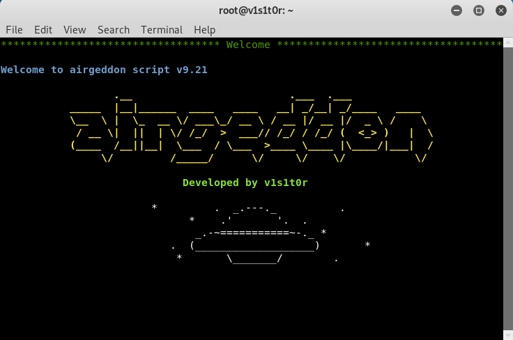 Airgeddon v9.21 - A Multi-use Bash Script for Linux Systems to Audit Wireless Networ
