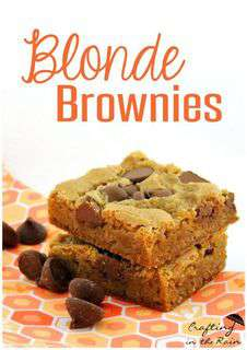 National Blonde Brownie Day Wishes