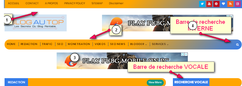 COMMENT OPTIMISER LE MENU D'UN SITE WEB