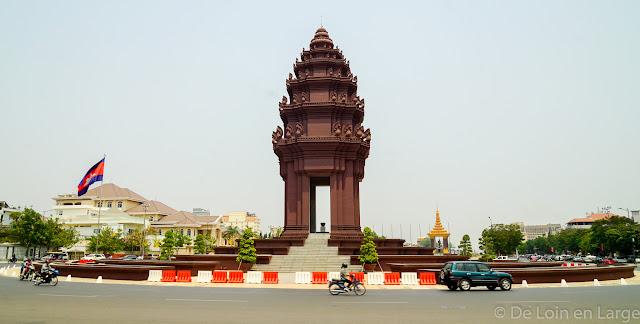 Monument de l'Indépendance - Phnom Penh - Cambodge