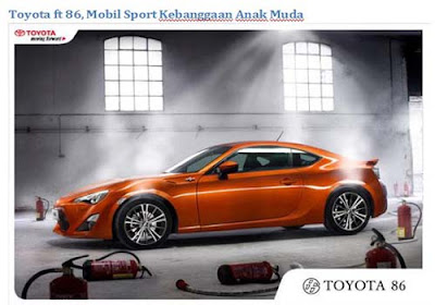 Melihat Spesifikasi Serta Harga Dari Toyota FT 86