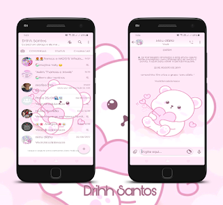 Teddy Bear Love Theme For YOWhatsApp & Fouad WhatsApp By Driih Santos