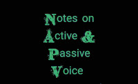 Study notes on Active passive voice for SSC, BANK exams
