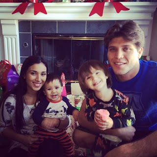 Brian Ortega And Stephanie Roberts With Their Two Sons
