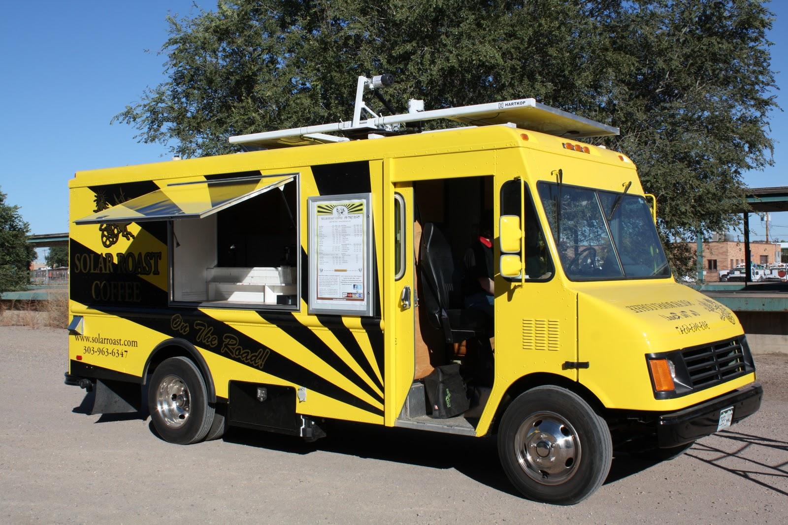Solar Panels Food Truck