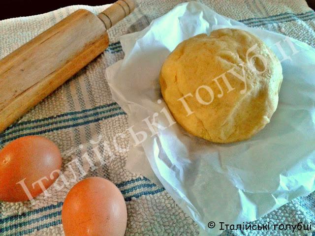 рецепт пісочного тіста для пирога