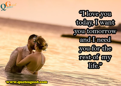 I love you quotes for her
