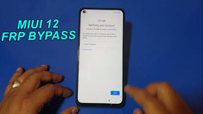 Redmi Note 9 FRP Bypass MIUI 12 Redmi Note 9 Google Account Unlock.