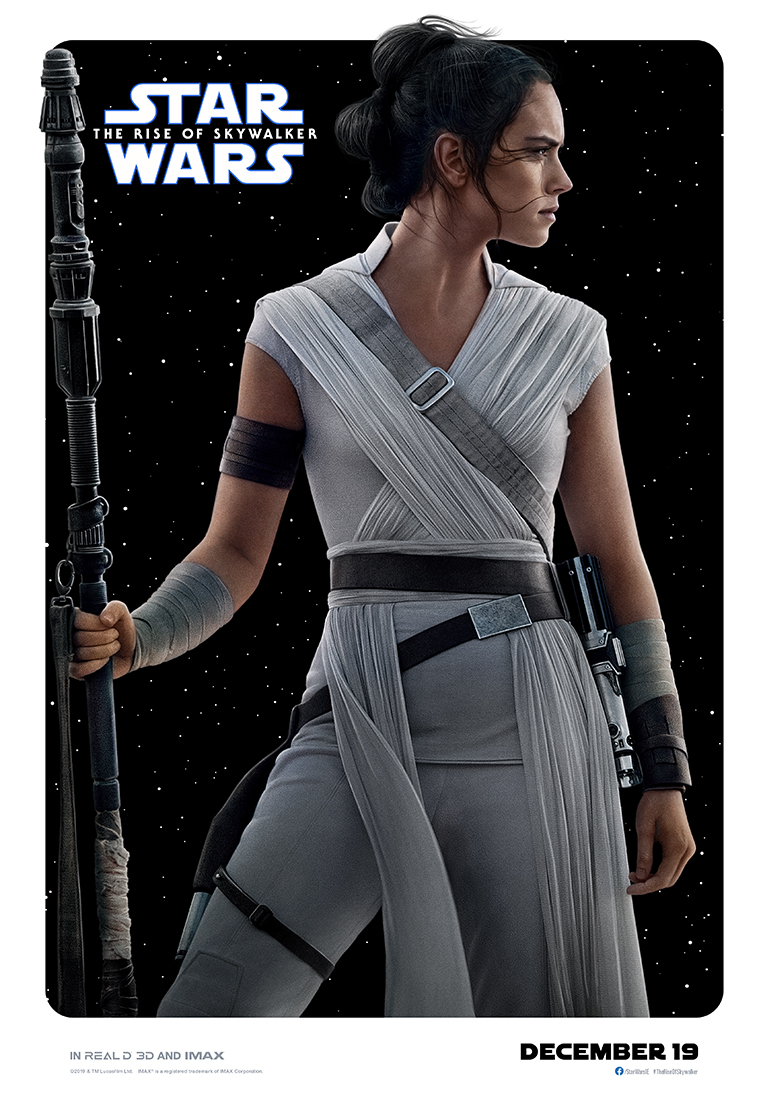 Star Wars: The Rise of Skywalker rey poster