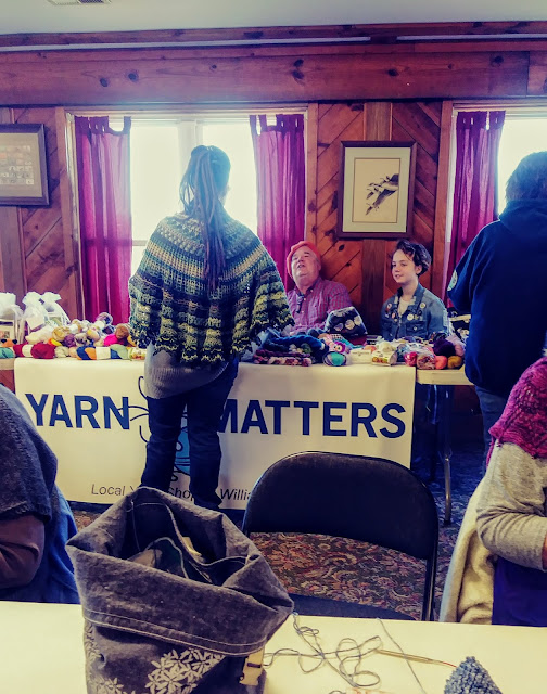 Yarn Matters and Shanzi from The Wren's Daughter.