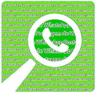Postagem de WhatsApp: feita no aplicativo e replicada no blog, sem alterações.