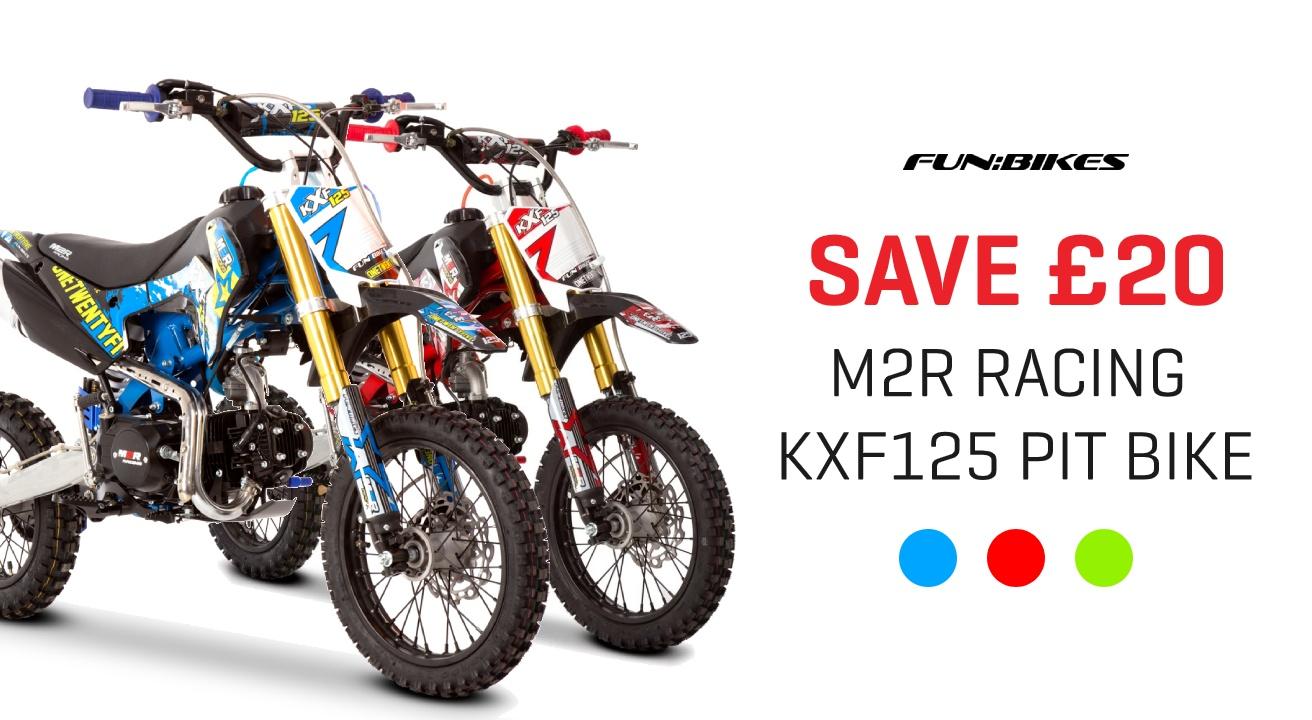 M2R Racing KXF125 Pit Bike