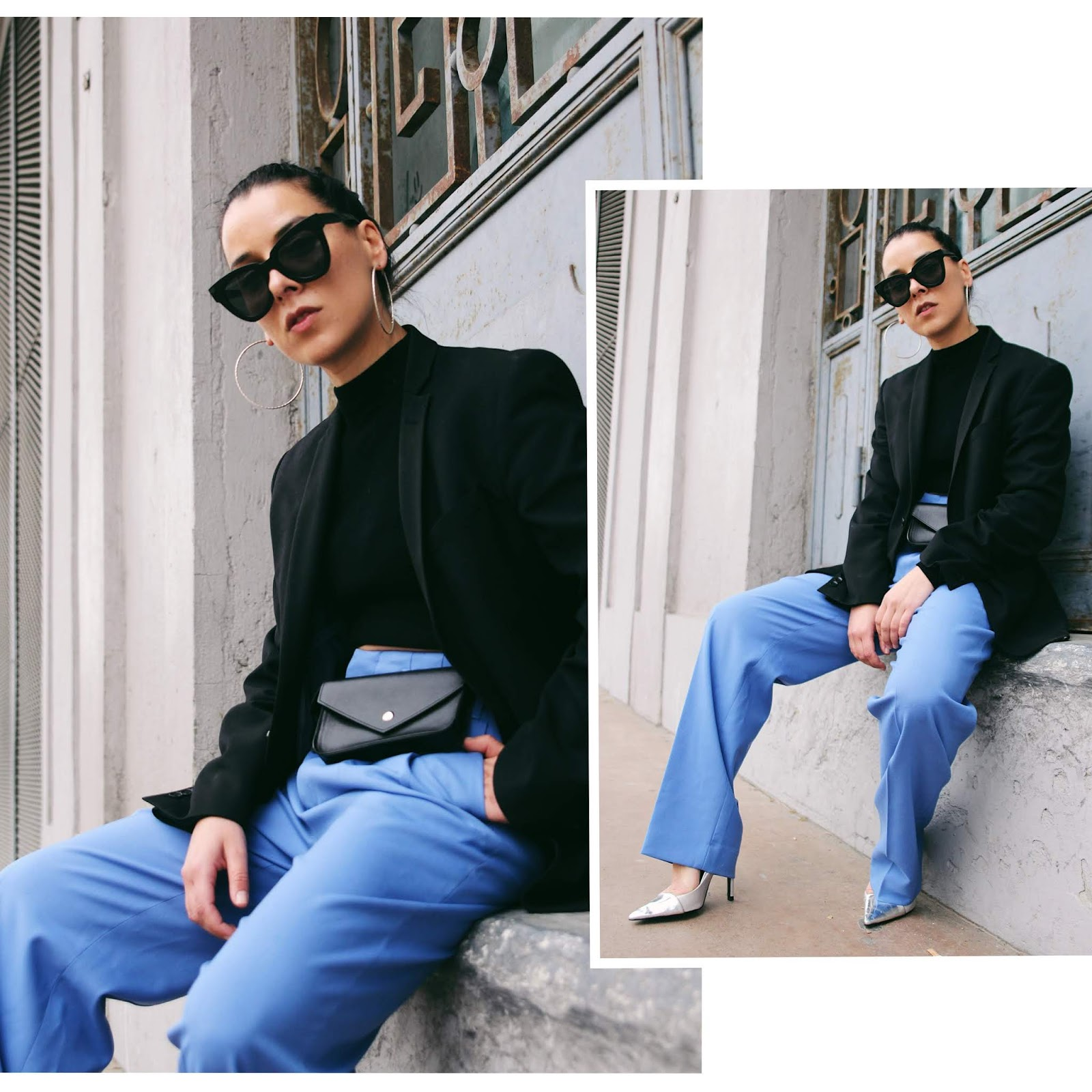 idée de look printemps 2019 oversized oversize blazer costume