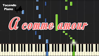 a comme amour richard clayderman piano