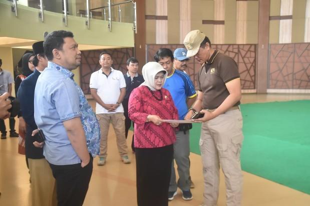 Bupati Bogor Kembali Tinjau Venue Porda XIII Jawa Barat