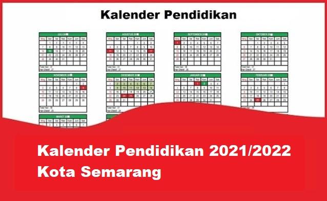 kalender pendidikan kota semarang