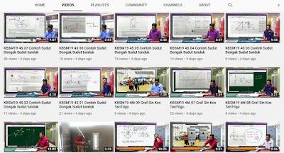 Youtube Channel pengajaran Matematik oleh Cikgu Romie dah cecah 31,000 subscribers. Tahniah cikgu!
