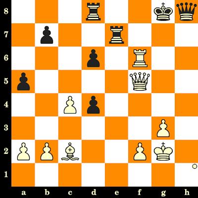 Les Blancs jouent et matent en 3 coups - Baskaran Adhiban vs Sergei Salov, Khanty Mansyisk, 2010